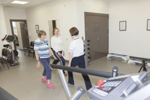 Exercise class with Heart 2 Heart